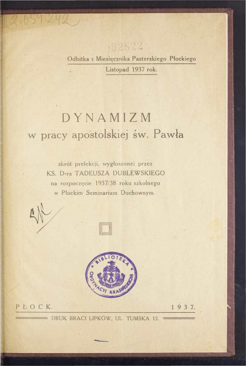 Dynamizm w pracy apostolskiej św. Pawła skrót prelekcji-05