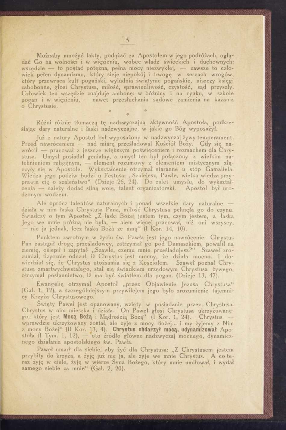Dynamizm w pracy apostolskiej św. Pawła skrót prelekcji-09