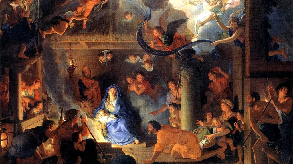 Charles Le Brun – Adoracja pasterzy